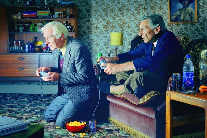 abuelos videojuegos